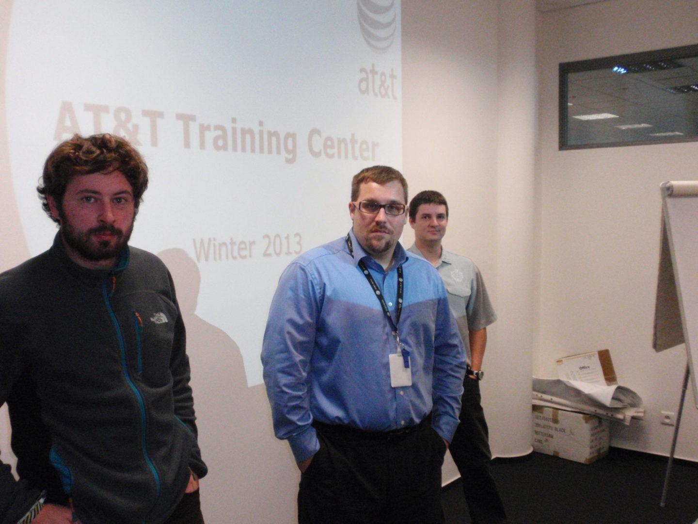AT&T Training Center Brno, Czech Republic - Summer 2013