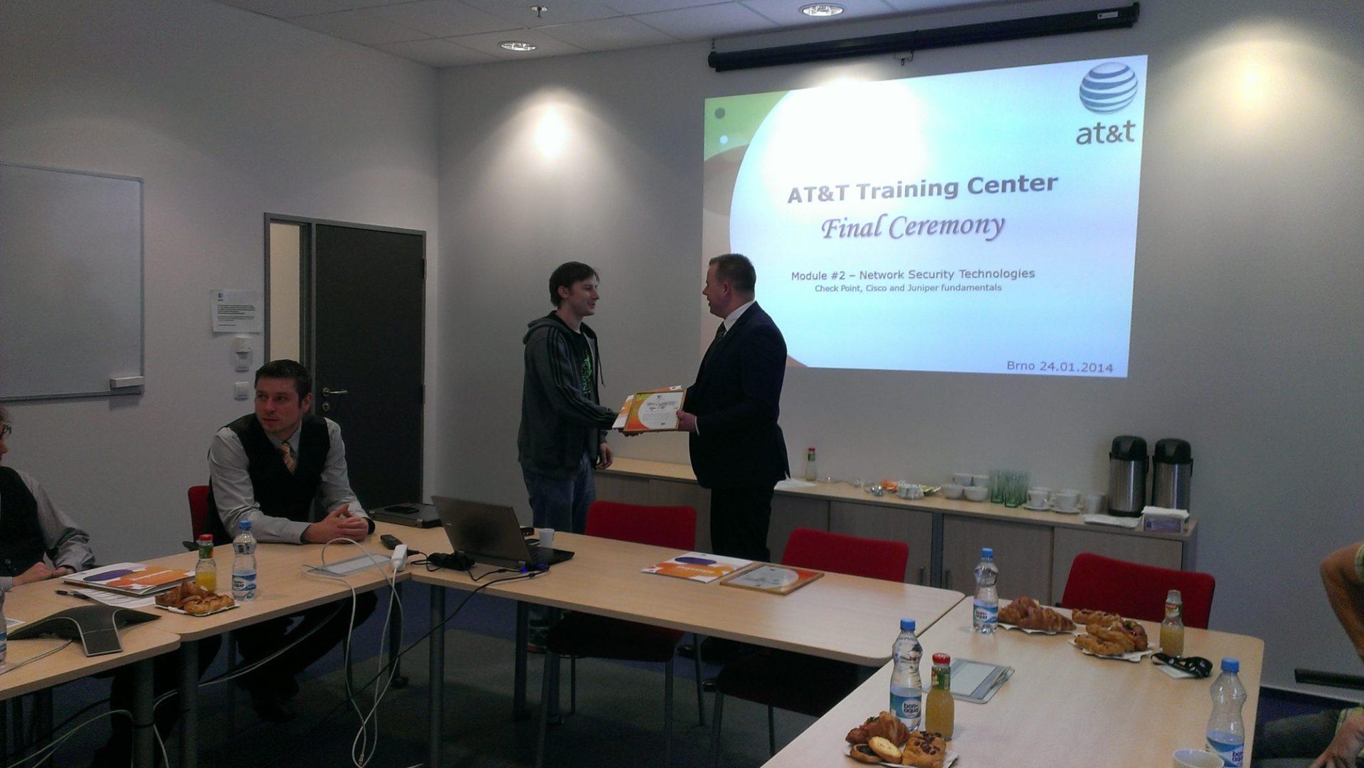 AT&T Training Center Brno, Czech Republic - Winter 2014